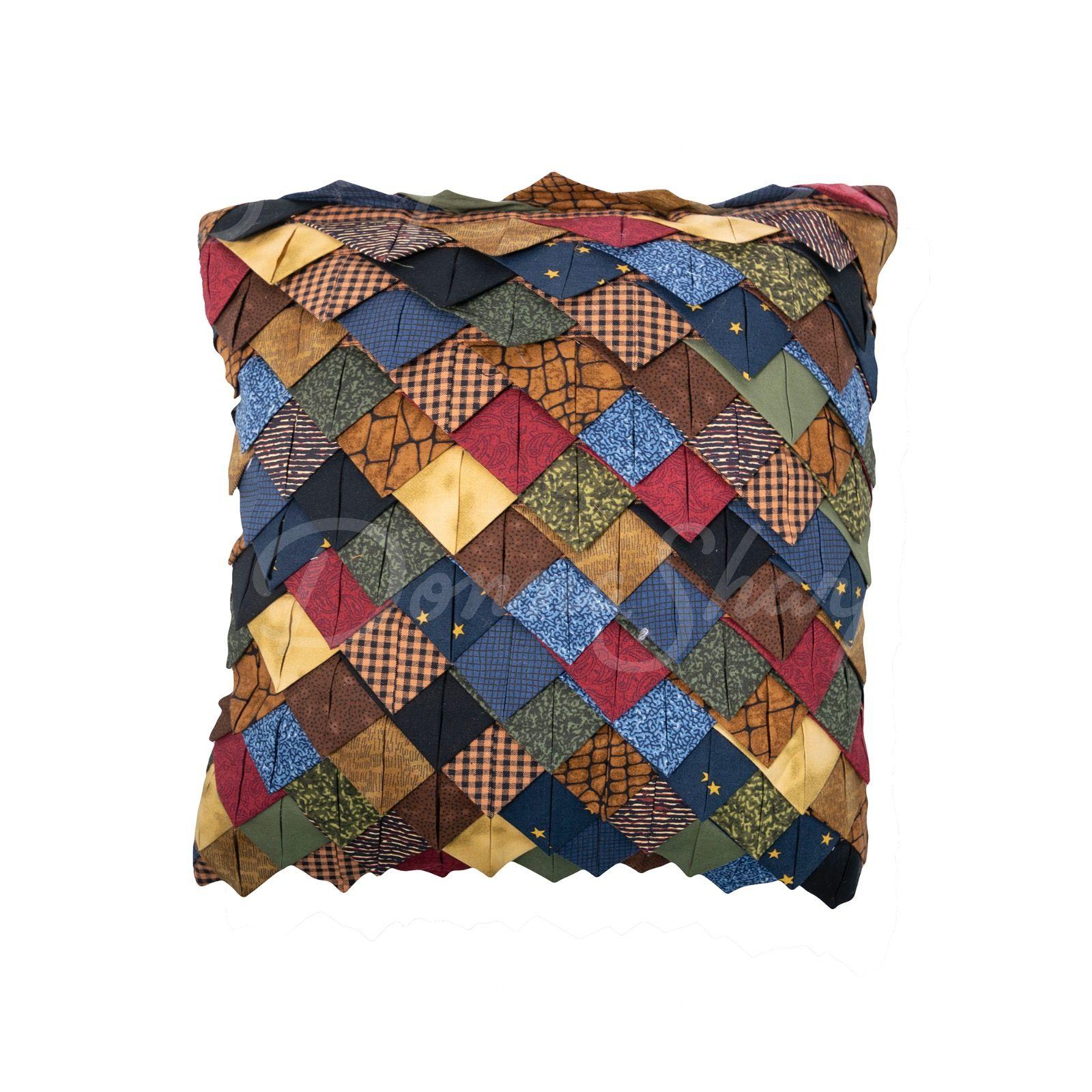 Decorative Pillow Roof Tile Midnight Bear