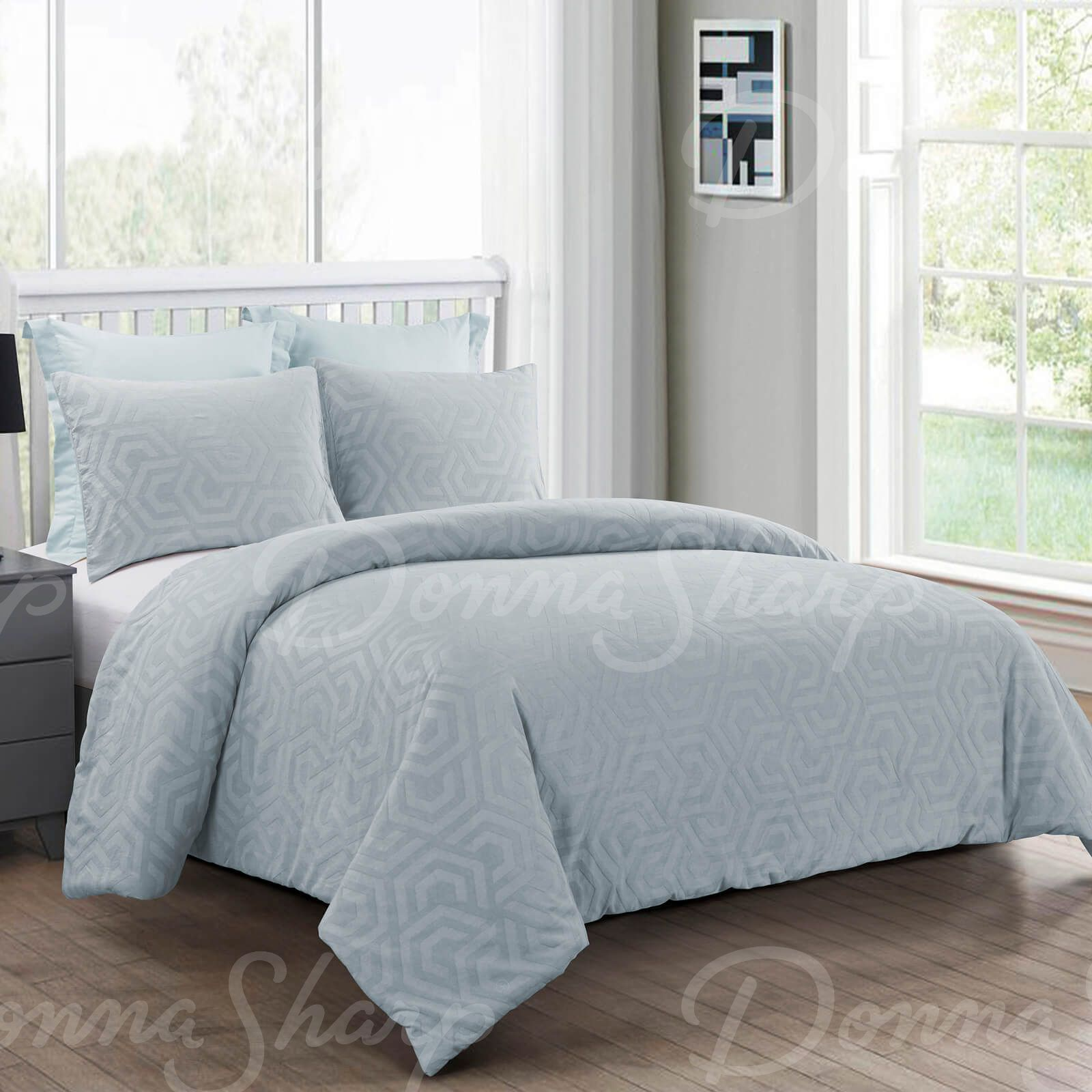 King Comforter Set Seville Sofe Blue