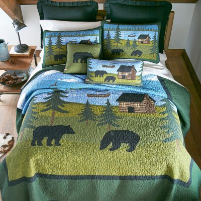 Bear River Quilt by Donna Sharp - Bedding Collection
