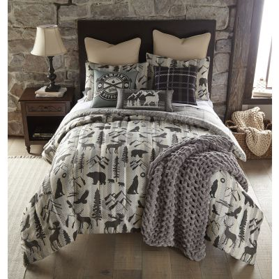 Your Lifestyle Forest Weave 3pc Comforter Bedding Set