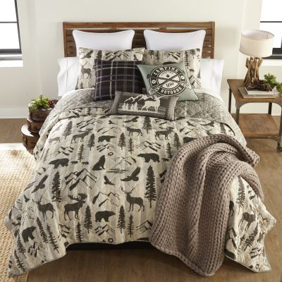 Your Lifestyle by Donna Sharp Forest Weave Quilted Bedding Set